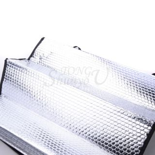 Cute Folding Auto Car Windshield Block Sun Shade Front and Rear Stalls