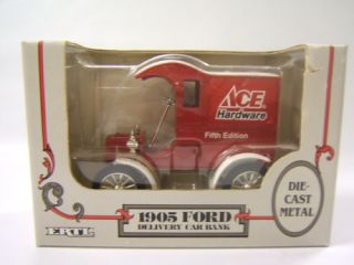 Ertl 1905 Ford Delivery Car Bank  5th