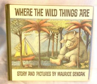 Where The Wild Things Are Maurice Sendak 1963 25th Anniversary Edition