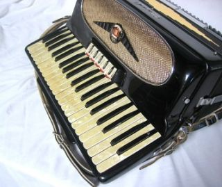 Monarch Accordion with Case Made in Italy
