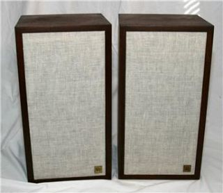Acoustic Research AR 4X Bookshelf Speakers Vintage