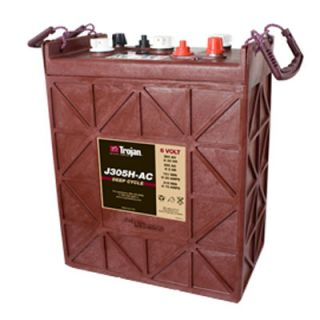 Trojan J305H AC 6V 360AH Lead Acid Deep Cycle Battery