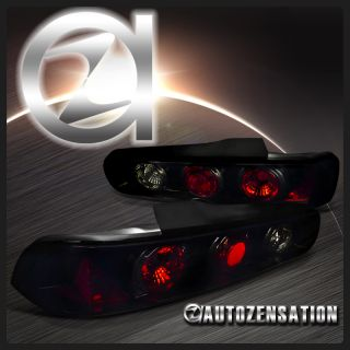 94 01 Acura Integra DC2 2dr 3DR JDM Glossy Black altezza Tail Lights