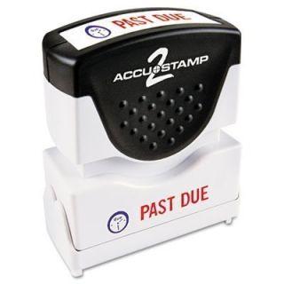 AccuStamp Past Due 2 Color Stamp Cosco #035543