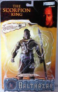 The Scorpion King Balthazar Action Figure Michael Clarke Duncan   NEW