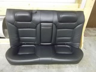 REAR LEATHER SEAT SET ACURA TL S TYPE 99 00 01 02 03 *051356*