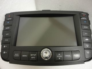 04 05 06 Acura TL GPS LCD Screen Navigation Radio Display AC Temp