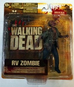 Walking Dead Action Figure Set of 5 TV Series 2 McFarlane Toys Rick