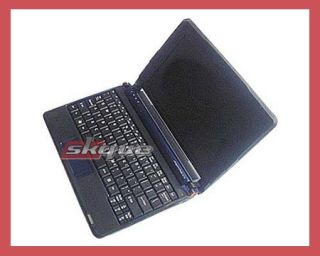 Black Silicone Case Skin Cover for for Acer Aspire One