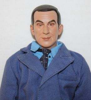 Get Smart Doll Set Don Adams Maxwell Chief Large 12 inch Action Figure
