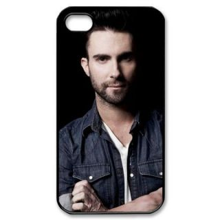 New Design Adam Levine Maroon 5 Fans Black Hard Case Apple iPhone 4 4S