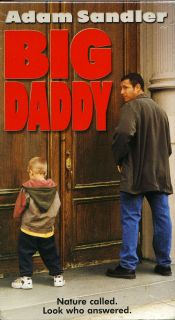 Big Daddy Adam Sandler Cole Dylan Sprouse New VHS