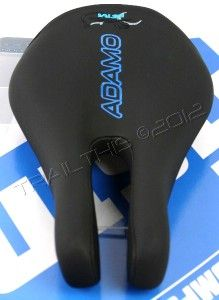 ISM ADAMO TYPHOON Black Split Nose Bike / Bicycle Saddle / Seat TRI TT