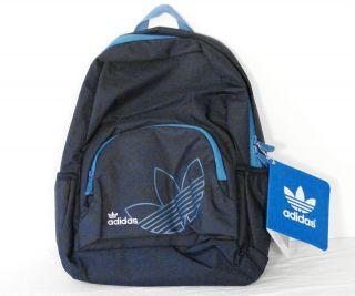 Adidas Oscar Pack Blue Signature Backpack Bag