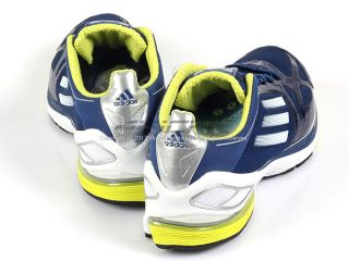 Adidas Adizero F50 2 M Dark Blue White Lab Lime Lightweight Running