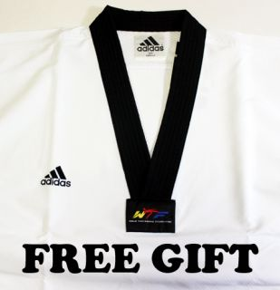 Adidas Taekwondo TKD Fighter Uniform Uniforms Dan DOBOK WTF Approved
