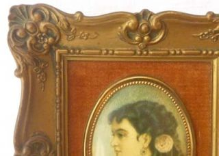 Victorian Cameo Creation Frames Cosway Patti Lady Prints 6X5