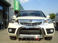 07 12 ACURA RDX FRONT BULL BAR GRILL GUARD BUMPER PROTECTOR W/ SKID