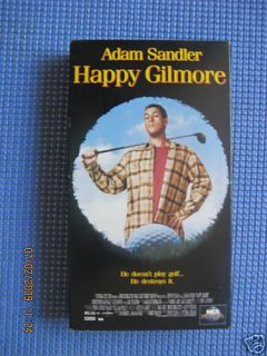 Happy Gilmore VHS 1996 Adam Sandler 096898282031