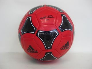 New Adidas adiPURE Glider Soccer Ball Red Size 4 V42360