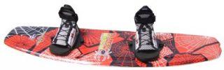 Black Widow Wakeboard With Grabber Bindings 2012 Model NEW WB712