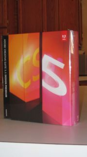 Adobe Creative Suite 5.5 Design Premium for Windows   Brand New Retail