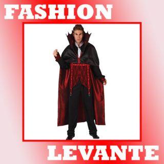 Disfraz de Vampiro Deluxe Hombre Adulto Disfraces Halloween Carnaval