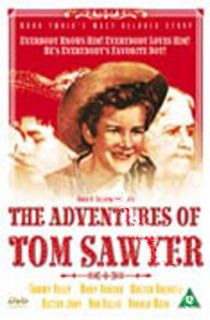 The Adventures of Tom Sawyer New PAL Classic DVD