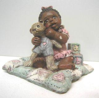 African American Art Sarahs Attic Baby African Art Americana Figurine