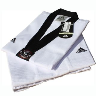 Adidas Taekwondo Champion III Uniform DOBOK Karateo TKD Uniform