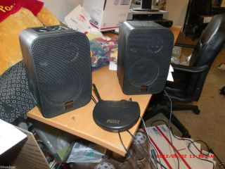 Advent Wireless Stereo Speakers AW400 900MHz