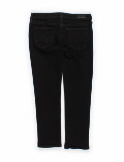 AG Adriano Goldschmied The Stevie Crop Slim Straight Jeans Sz 28R
