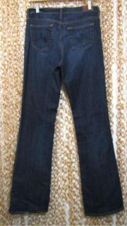 Adriano Goldschmied AG Mid Rise Angel Boot Cut Dark Denim Jeans New 29