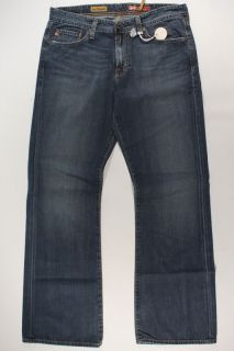Mens AG Adriano Goldschmied Fillmore Bootcut Jeans Blue Denim