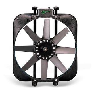 Flex A Lite Direct Fit Electric Fan 2 800 CFM Puller 15 Dia Single