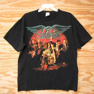 Aerosmith Rockin The Joint Tour T shirt Sz L