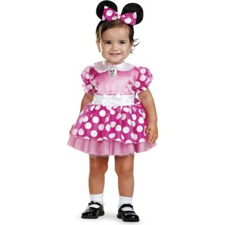 Mickey Mouse Clubhouse Pink Minnie Mouse Infant Costume