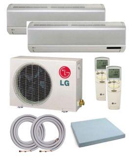 LG LMU180CE Mini Split Dual Zone Air Conditioner