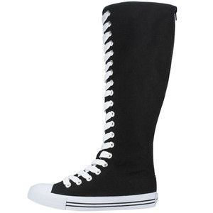 Airwalk Canvas Knee High Sneakers Converse