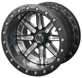Hiper Dakar Gloss Black Dual Beadlock Wheel 1470YHU43DBK