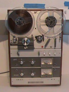 AKAI M 9 Crossfield Head 4 Track Stereo Reel to Reel Tape Recorder