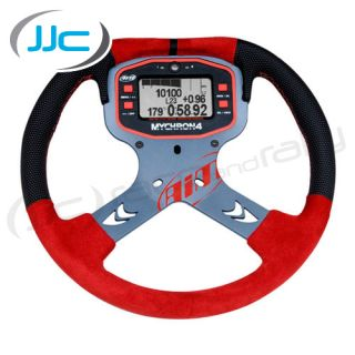 Aim Motorsport Mychron 4 Red Karting Steering Wheel Mount for Data
