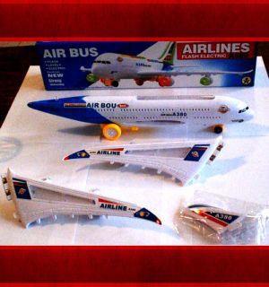Children Battery Big Airplane Aircraft Set Lights Sounds Discount Sale