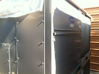 Carrier 7 5 Ton Package Unit Air Conditioner 230 3PH Built in