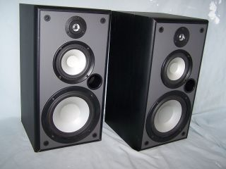 NS A60X 8 3 Way Bookshelf Home Theater Stereo Speakers
