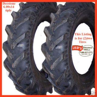 600x14 6 00x14 600 14 6 00 14 R 1 Lug Farm Tractor Tire