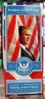 George w Bush 12 Talking Action Figure Toypresidents