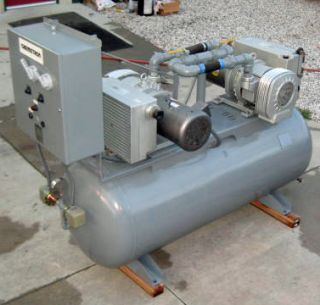 Allied Chemetron Medical Vacuum System Air Compressor Werie Rietschle