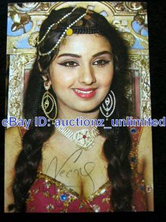 Bollywood Actress Leena Chandavarkar  Original Post Card  India