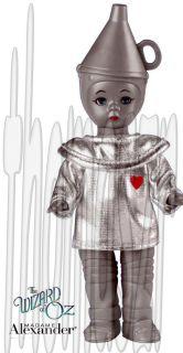 Tin Man Figure Toy 6 Wizard of oz Madame Alexander McDonalds 2007